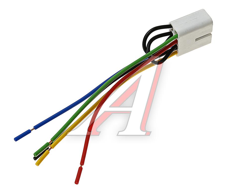Изображение 1, 2106-3724568СБ Колодка клавиши управления стеклоподъемником с 7-ю проводами АЭНК