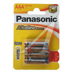 Батарейка AAA LR03 1.5V блистер (4шт.) Alkaline Power Essential PANASONIC