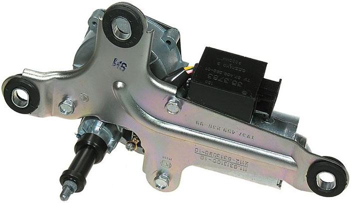 Мотор-редуктор стеклоочистителя со стороны вала